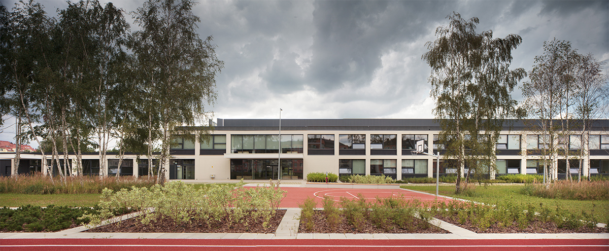 ch+ school and kindergarten in wrocław – competition (1st prize)