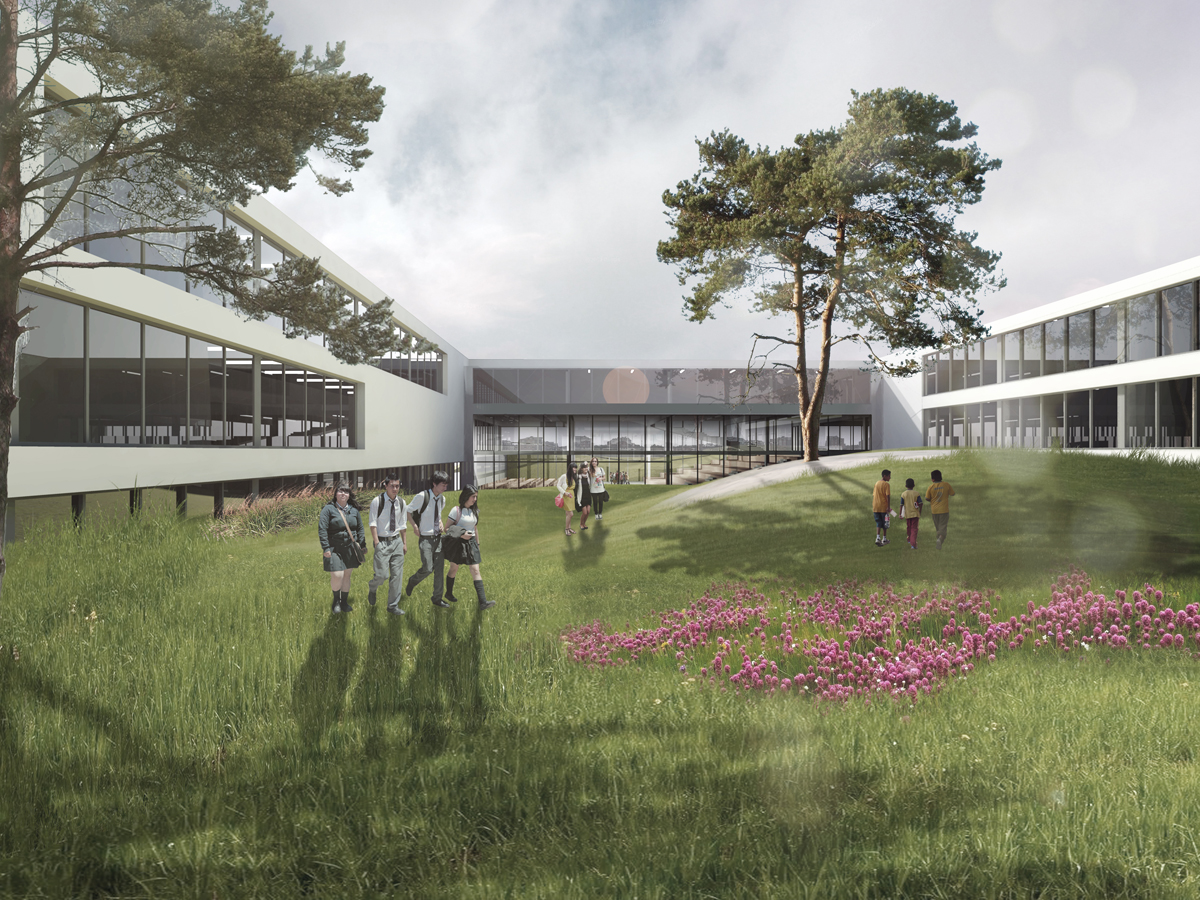 ch+ school in gdynia – competition entry