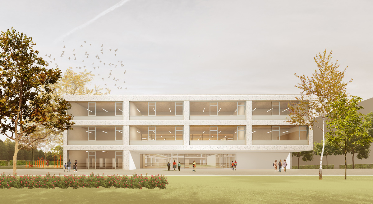 ch+ school in warsaw – competition entry